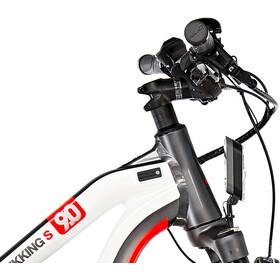 HAIBIKE XDURO Trekking S 9.0 Damen Titan/Weiß/Rot